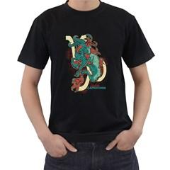 Capricorn Mens' T Shirt (black)