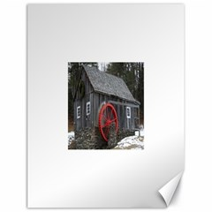 Vermont Christmas Barn Canvas 18  X 24  (unframed)