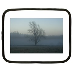 Foggy Tree Netbook Sleeve (xl) by plainandsimple