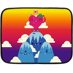 Love On Top Mini Fleece Blanket (two Sided) by Contest1771648