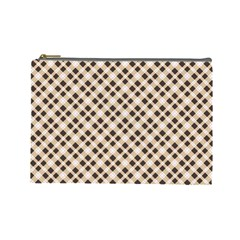 Plaid  Cosmetic Bag (Large) by EndlessVintage
