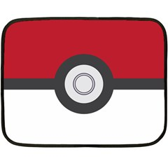 Pokeball Blanket Mini Fleece Blanket (two Sided) by Contest1630545