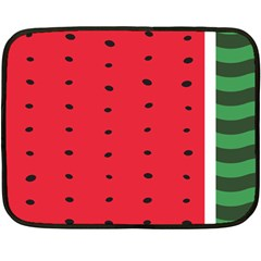 Watermelon Blanket Mini Fleece Blanket (single Sided) by Contest1630545