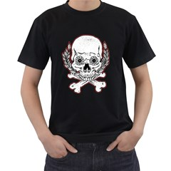 Sugar Skull Mens' T Shirt (black) by Contest1810159