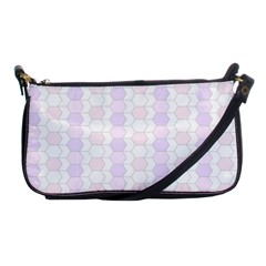 Allover Graphic Soft Pink Evening Bag