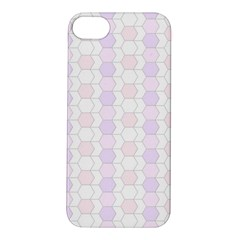 Allover Graphic Soft Pink Apple Iphone 5s Hardshell Case