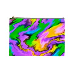Crazy Effects  Cosmetic Bag (Large) by ImpressiveMoments