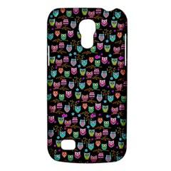 Happy Owls Samsung Galaxy S4 Mini (gt I9190) Hardshell Case