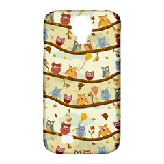 Autumn Owls Samsung Galaxy S4 Classic Hardshell Case (pc+silicone)