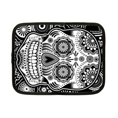 Sugar Skull Netbook Sleeve (small) by Ancello