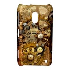 Steampunk Nokia Lumia 620 Hardshell Case