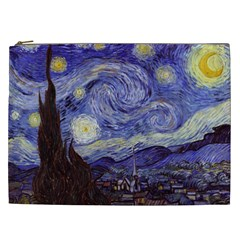 Vincent Van Gogh Starry Night Cosmetic Bag (xxl) by MasterpiecesOfArt
