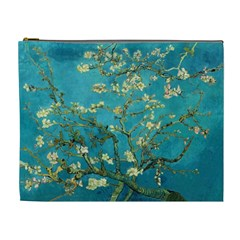 Vincent Van Gogh Blossoming Almond Tree Cosmetic Bag (xl) by MasterpiecesOfArt