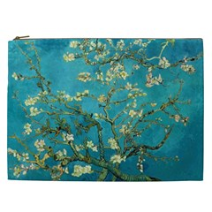 Vincent Van Gogh Blossoming Almond Tree Cosmetic Bag (xxl) by MasterpiecesOfArt
