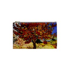 Vincent Van Gogh Mulberry Tree Cosmetic Bag (small) by MasterpiecesOfArt