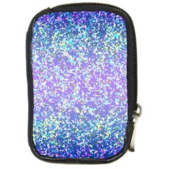 Glitter2 Compact Camera Leather Case by MedusArt