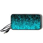 Glitter Dust 1 Portable Speaker (Black) Front
