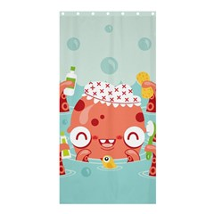 Mr  Bubbles Shower Curtain 36  X 72  (stall)