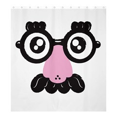 Shower Undercover! Shower Curtain 66  X 72  (large)
