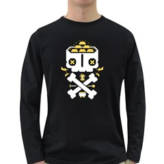 Gold Mind Men s Long Sleeve T-shirt (Dark Colored) by Contest1853704