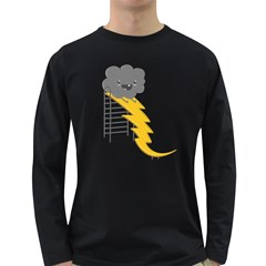 Ride The Lightning! Men s Long Sleeve T Shirt (dark Colored) by Contest1861806