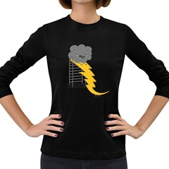 Ride The Lightning! Women s Long Sleeve T-shirt (Dark Colored) by Contest1861806