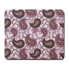Paisley In Pink Large Mouse Pad (rectangle) by StuffOrSomething