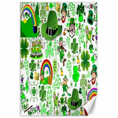 St Patrick s Day Collage Canvas 20  X 30  (unframed)