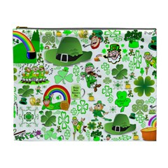 St Patrick s Day Collage Cosmetic Bag (xl)