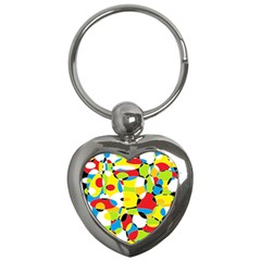 Interlocking Circles Key Chain (heart) by StuffOrSomething