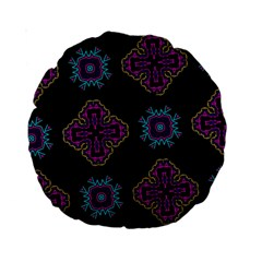 Black Beauty 15  Premium Round Cushion  by Contest1852090