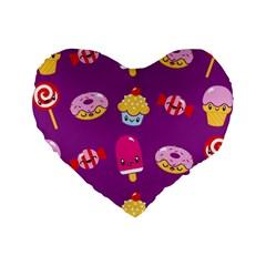 Sweet Dreams 16  Premium Heart Shape Cushion