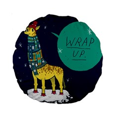 Wrap Up  15  Premium Round Cushion  by Contest1878722