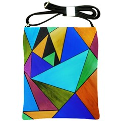 Abstract Shoulder Sling Bag by Siebenhuehner