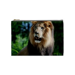 Regal Lion Cosmetic Bag (medium) by AnimalLover