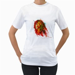 King Of Imaginary Beasts Women s T Shirt (white)  by Contest1885123