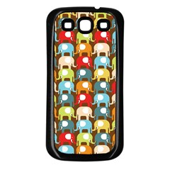 Elefunts! Samsung Galaxy S3 Back Case (black)
