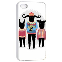 Nightmare Knitting Party Apple Iphone 4/4s Seamless Case (white) by Contest1888822