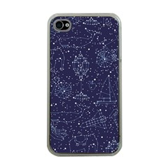 Constellations Apple Iphone 4 Case (clear) by Contest1888822
