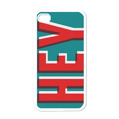 Hey Apple Iphone 4 Case (white)