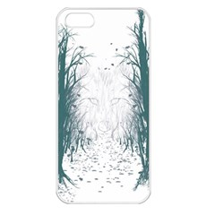 the Woods Beckon  Apple Iphone 5 Seamless Case (white) by Contest1891613