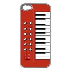 Moog Apple Iphone 5 Case (silver) by Contest1753604