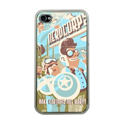 Nerdcorps Apple Iphone 4 Case (clear) by Contest1889920