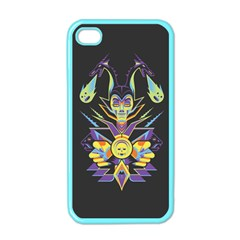 Mistress Of All Evil Apple Iphone 4 Case (color)