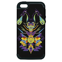 Mistress Of All Evil Apple Iphone 5 Hardshell Case (pc+silicone)