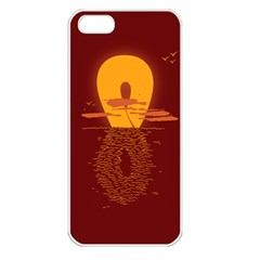 Endless Summer, Infinite Sun Apple Iphone 5 Seamless Case (white) by Contest1893972