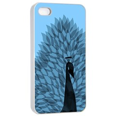 Flaunting Feathers Apple Iphone 4/4s Seamless Case (white) by Contest1893972