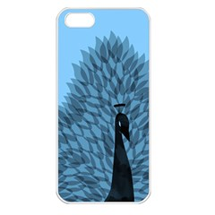 Flaunting Feathers Apple Iphone 5 Seamless Case (white) by Contest1893972
