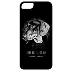 Every Dog Has Its Day Apple Iphone 5 Classic Hardshell Case by Contest1761904