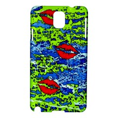 Kisses Samsung Galaxy Note 3 N9005 Hardshell Case by Rbrendes